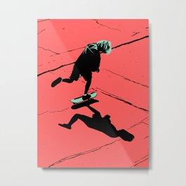 S. K. 02 Metal Print