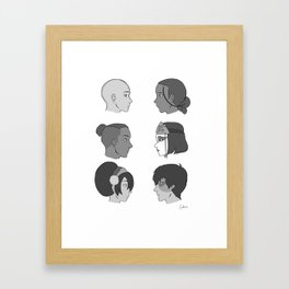 gaang Framed Art Print