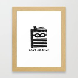 By It's Cover Framed Art Print