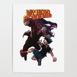 My Hero Academia Battle Poster
