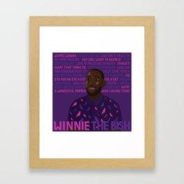 Winston Bishop Framed Art Print