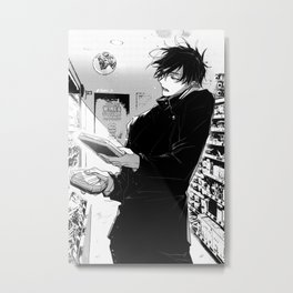 Megumi Fushiguro Metal Print