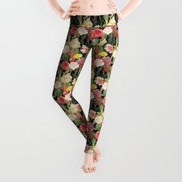 Vintage Floral Pattern | No. 1A Leggings