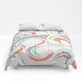 Abstract print design Comforters