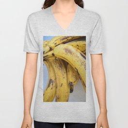 Fruit Study No. 1: As The Banana Turns Unisex V-Neck