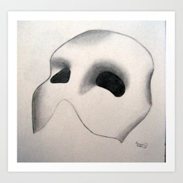 Opera Ghost Art Print