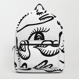 Body foot nose etc Backpack