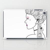 marie antoinette iPad Cases featuring Marie Antoinette by Nicholas Darby