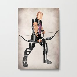 Hawkeye Metal Print
