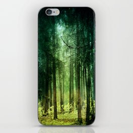 Enchanted light iPhone Skin