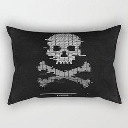 Loading death 8bit art Rectangular Pillow