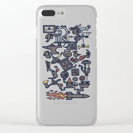 All Things in Balance Clear iPhone Case