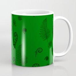 Fiddleheads and Ferns Dark Coffee Mug