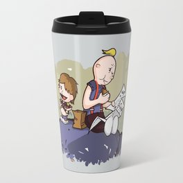 Chunk and Sloth Travel Mug