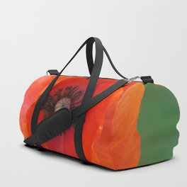 Floating poppy Duffle Bag