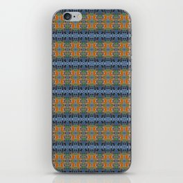 Fox Stare patterned iPhone Skin