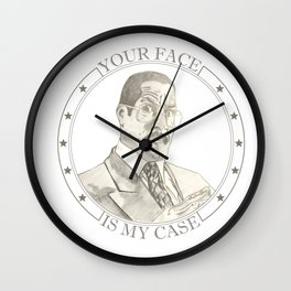 Jackie Chiles - Attorney at Law Wall Clock