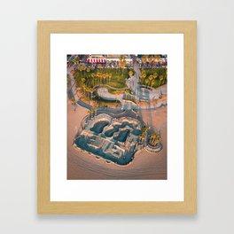 Venice Skatepark Framed Art Print