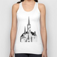 hyrule Tank Tops featuring Hyrule Castle  by Cam Floyd Illustration