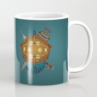 bioshock Mugs featuring Bioshock tribute by Javier Robles