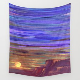 Magical Southwest Night Sky Wall Tapestry