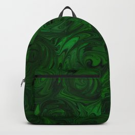 Emerald Green Roses Backpack