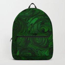 Emerald Green Roses Backpack