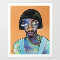 ,mnm Art Print