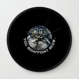 You disappoint Meow. Wall Clock