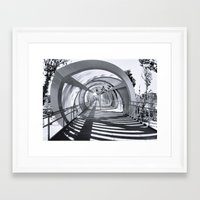 stargate Framed Art Prints featuring Stargate Madrid by Pedro Fernandez