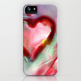 Heart Dreams 4H by Kathy Morton Stanion iPhone Case