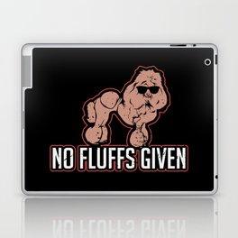 Poodle Dog Gift: No Fluffs Given I German Engeneering Laptop & iPad Skin