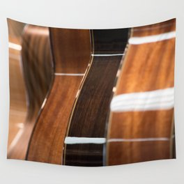 Recurring Guitar Dream Wall Tapestry