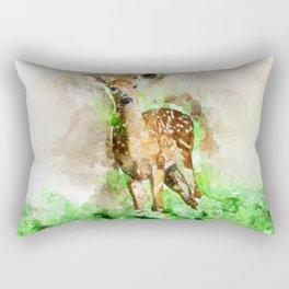 Lovely Deer Rectangular Pillow