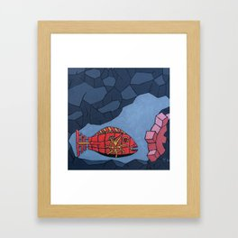 Eau De Solitude Framed Art Print