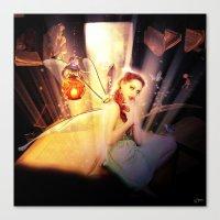 fairytale Canvas Prints featuring Fairytale by Emma Design Digital Arts