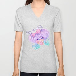 Call Me, Cutie Unisex V-Neck