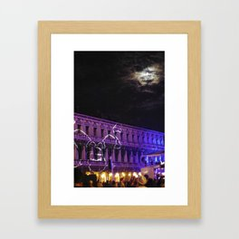 Italy by night Framed Art Print