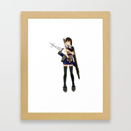 Kantai Collection - Kaga Framed Art Print