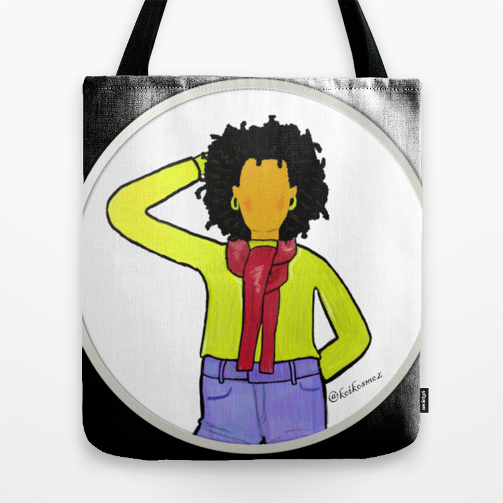 Black Girl Magic Tote Purse by Koikosmoz (TBG9696812) photo