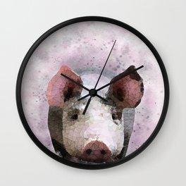 Design 112 Pig Wall Clock
