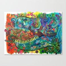 Tyrannosaurus Fresh  Canvas Print