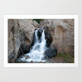 Boulder Falls #552 Art Print