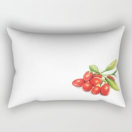 Group o' Goji berries Rectangular Pillow
