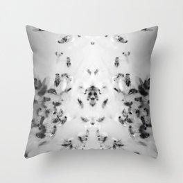 The Rorschach Test Throw Pillow