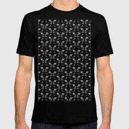 Butterfly pattern T-shirt