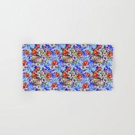 Watercolor Bright Floral Hand & Bath Towel