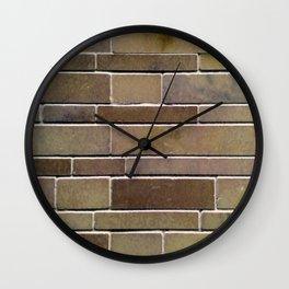 Stonewall Gold Wall Clock
