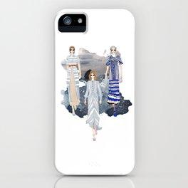 Fashionary - Blues iPhone Case