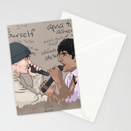B-Rabbit vs. Gully Boy Stationery Cards